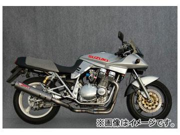 2輪 ヤマモトレーシング spec-A マフラー TI4-1 チタン 品番:31100-11TTB スズキ GSX1100S カタナ