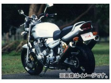 2輪 ヤマモトレーシング spec-A マフラー SUS SLIP-ON TWIN カーボン 品番:21200-02NCB ヤマハ XJR1200/1300 ~1999年