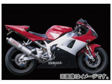 2輪 ヤマモトレーシング spec-A マフラー チタン SLIP-ON DOWN チタン 品番:21001-01DTN ヤマハ YZF R-1 1998年~2001年