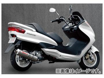 2輪 ヤマモトレーシング spec-A マフラー SUS SLIP-ON チタン 品番:20253-01NTN ヤマハ マジェスティ250 2003年