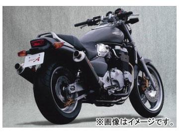 2輪 ヤマモトレーシング spec-A マフラー SUS4-2-1-2 カーボン 品番:11300-42SCN ホンダ X-4