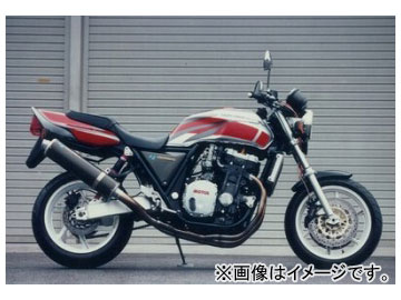 2輪 ヤマモトレーシング spec-A マフラー SUS4-2-1 カーボン 品番:11000-21SCB ホンダ CB1000SF