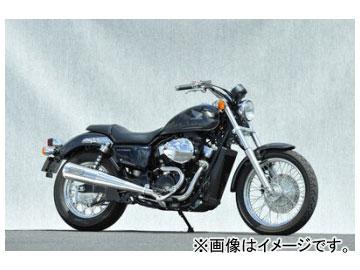 2輪 ヤマモトレーシング spec-A マフラー SUS2-1 メガホン 品番:10752-61MSN ホンダ VT750S