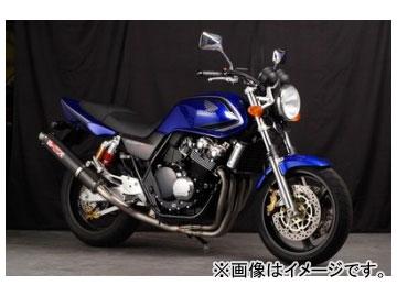2輪 ヤマモトレーシング spec-A マフラー TI4-1 カーボン 品番:10410-11TCB ホンダ CB400SF VTEC 1999年~2007年