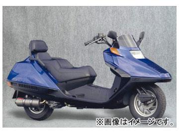 2輪 ヤマモトレーシング spec-A マフラー SUS SLIP-ON チタン 品番:10257-01NTB ホンダ フュージョン