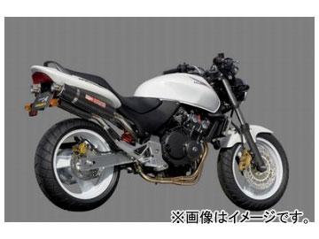 2輪 ヤマモトレーシング spec-A マフラー SUS4-1-2 カーボン 品番:10253-82SCC ホンダ ホーネット250