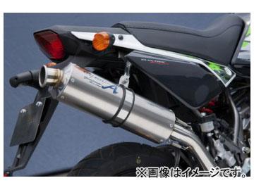 2輪 ヤマモトレーシング spec-A マフラー SUS DOWN チタン レース 品番:40112-SDTRN カワサキ KSR110 2013年~