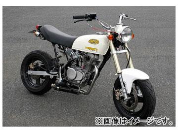 2輪 ヤマモトレーシング spec-A マフラー SUS DOWN II Version カーボン JMCA 品番:10061-SDC02 ホンダ APE100