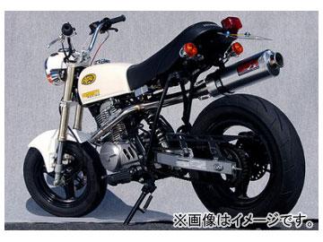 2輪 ヤマモトレーシング spec-A マフラー RS4-124 アルミ レース 品番:10066-SA124 ホンダ APE100