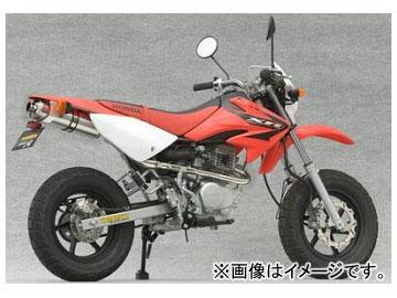 2輪 ヤマモトレーシング spec-A マフラー SUS RS4-C100 チタン レース 品番:10065-RS4TR ホンダ XR100