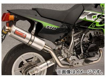2輪 ヤマモトレーシング spec-A マフラー SUS DOWN II Ver アルミ JMCA 品番:40111-SDASJ カワサキ KSR110
