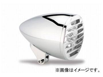 2輪 EASYRIDERS ARLEN NESS 5-3/4in ストレッチブレットヘッドライト W/DEEP カットグリル付 クローム 品番:AN4960 JAN:4548632155591