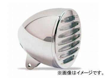 2輪 EASYRIDERS ARLEN NESS 5-3/4in ブレットヘッドライト W/DEEP カットグリル付 クローム 品番:AN4962 JAN:4548632155614