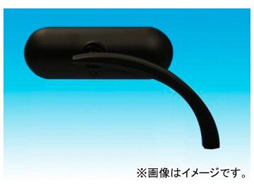 2輪 EASYRIDERS ARLEN NESS ネス マイクロミニオーバルミラー 黒 右 品番:AN4785 JAN:4548632029021