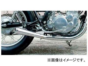 2輪 EASYRIDERS ショートメガホンマフラー サイドアウトタイプ 品番:NT0691 JAN:4548632043966 ヤマハ SR400 ~2008年