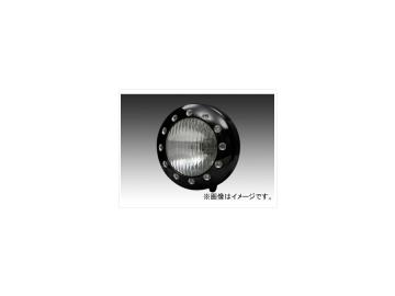 2輪 EASYRIDERS ドリルドヘッドライト ブラック 品番:5899-BK JAN:4548632141969