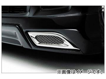 ギャルソン エアーダクトクロームカバー ホンダ N-BOX カスタム JF1,2
