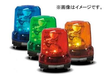 パトライト 強耐振大型パワーLED回転灯 緑/青 RLR-M2-P