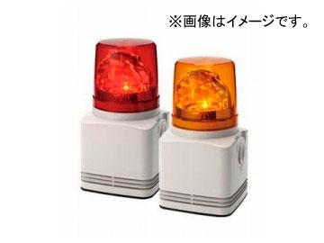 パトライト シグナルホン 電子音内蔵LED回転灯 赤/黄 RFT-24