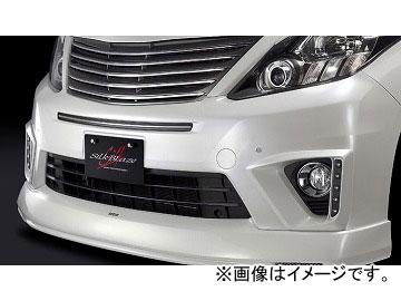 シルクブレイズ プレミアムライン フロントハーフスポイラー 純正色(パールメタリック) トヨタ アルファード ANH/GGH20・25W S 後期 2011年09月~ 選べる7塗装色