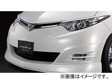 シルクブレイズ ミニバンFT フロントリップスポイラー 純正色(パールメタリック) トヨタ エスティマアエラス ACR/GSR50・55 選べる7塗装色
