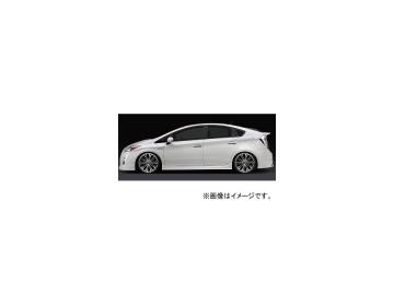 シルクブレイズ プレミアムライン サイドステップ 純正色(ソリッドカラー) トヨタ プリウス ZVW30 2009年05月~2011年12月 選べる2塗装色