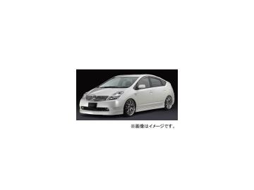 シルクブレイズ エアロ フロントスポイラー 純正色(パールメタリック) トヨタ プリウス NHW20 2003年09月~2009年04月 選べる6塗装色