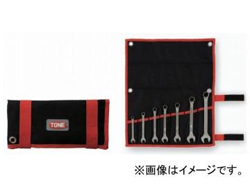 トネ/TONE チタンツールコンビネーションスパナセット 7点 品番:TMS700