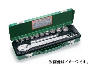 """トネ/TONE 12.7mm(1/2"""") ソケットレンチセット 13点 品番:800M ISO"""