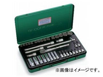 """トネ/TONE 12.7mm(1/2"""") ミックスソケットレンチセット 39点 品番:MX400"""