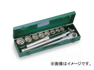 """トネ/TONE 19.0mm(3/4"""") ソケットレンチセット 12点 品番:200M"""