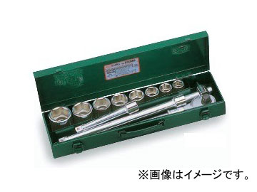 """トネ/TONE 19.0mm(3/4"""") ソケットレンチセット 12点 品番:200MS"""