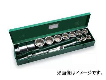 """トネ/TONE 25.4mm(1"""") ソケットレンチセット 17点 品番:250M ISO"""