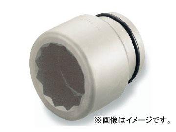 """トネ/TONE 38.1mm(1 1/2"""") インパクト用ソケット(12角) 品番:12AD-50"""