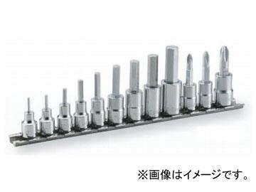 ヘキサゴンソケットセット 12pcs HH412 トネ (ホルダー付)