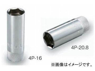 """トネ TONE 12.7mm 1 2"""" 6角 品番:4P-16 美品 割引も実施中 プラグソケット マグネット付"""