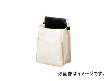 コヅチ 三段式電工用腰袋 ペン差・カッター差付 KC-05 W 10枚 オレンジ H270×W200×T75mm JAN:4934053010128