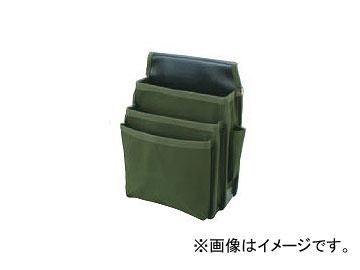 コヅチ 三段式電工用腰袋 ペン差・カッター差付 KC-26 BOD 10枚 国防 H270×W200×T70mm JAN:4934053010265