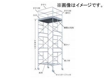 123/伊藤製作所 ローリングタワー 1段セット