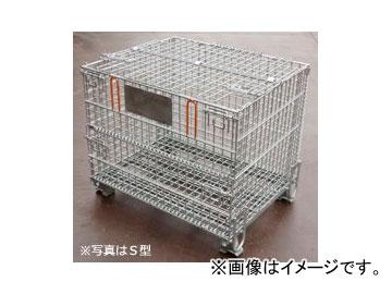 123/伊藤製作所 吊上げ式かご型パレット S型フタ付 PM-SPT2