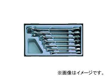 スエカゲツール Pro-Auto コンビネーションギアレンチ 7PC. No.PA4367 JAN:4989530603294