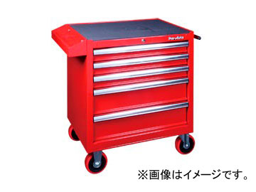 スエカゲツール Pro-Auto 5段引出しベアリング式 ローラーキャビネット No.GT-0006 JAN:4989530680110