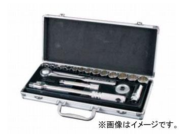 """スエカゲツール SEK 1/2""""DR. 19PC. ソケットレンチセット No.SL4019 JAN:4989530041911"""