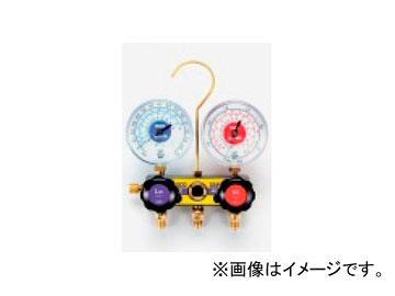 タスコジャパン サイトグラス付ゲージマニホールド TA120AH