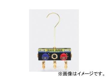 タスコジャパン サイトグラス付ボールバルブマニホールドボディ TA120K-11