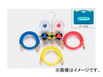 タスコジャパン サイトグラス付ゲージマニホールドキット TA120TH-2