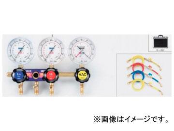 タスコジャパン スリーゲージマニホールドキット TA122-3G