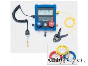 タスコジャパン 多機能型(温度・圧力・真空)デジタルゲージマニホールド TA122XA