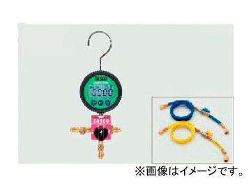 送料無料 タスコジャパン R410A R32ボールバルブ式デジタルシングルマニホールド 豪華な 有名な TA123DVZ-1