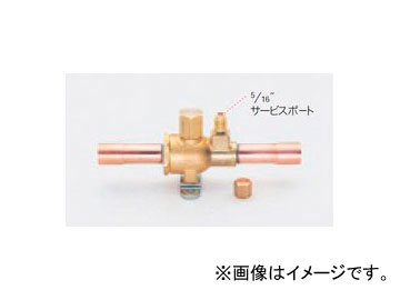 """タスコジャパン R410A用ボールバルブ(アクセスポート付) 7/8"""" TA281HC-7"""